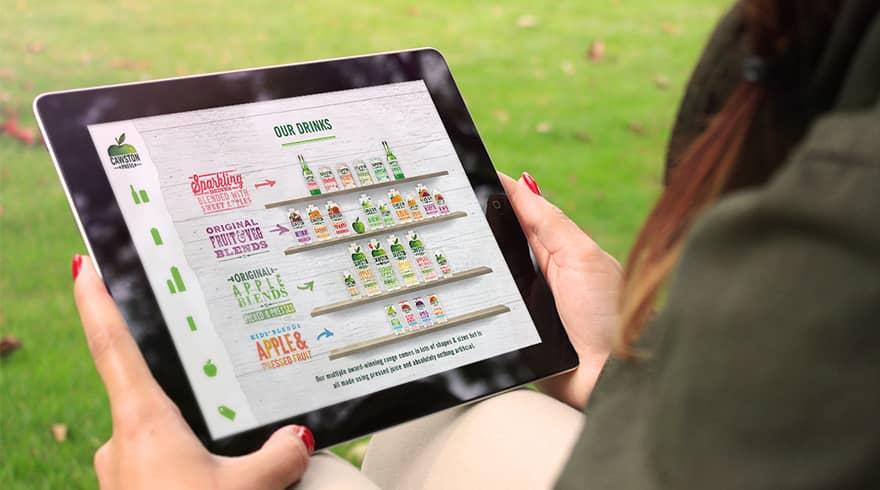 Cawston Press IOS iPad Application