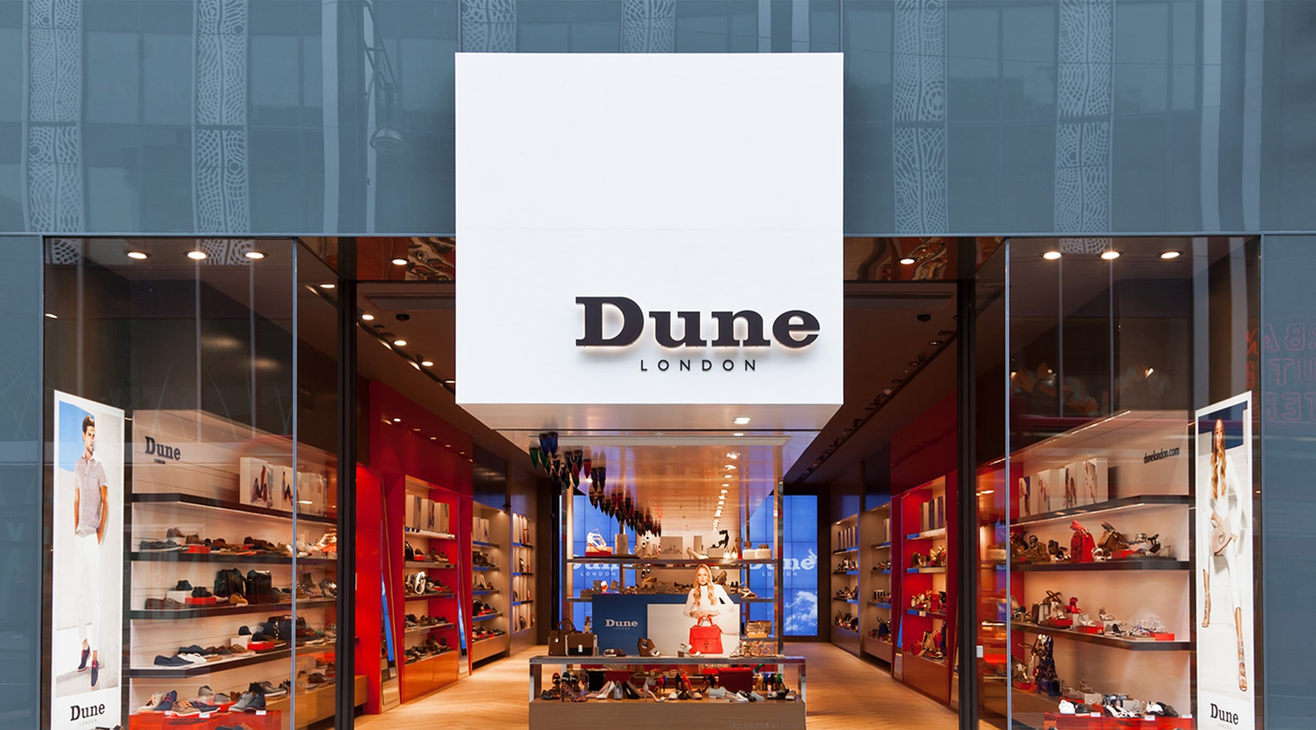 Dune London Store Front