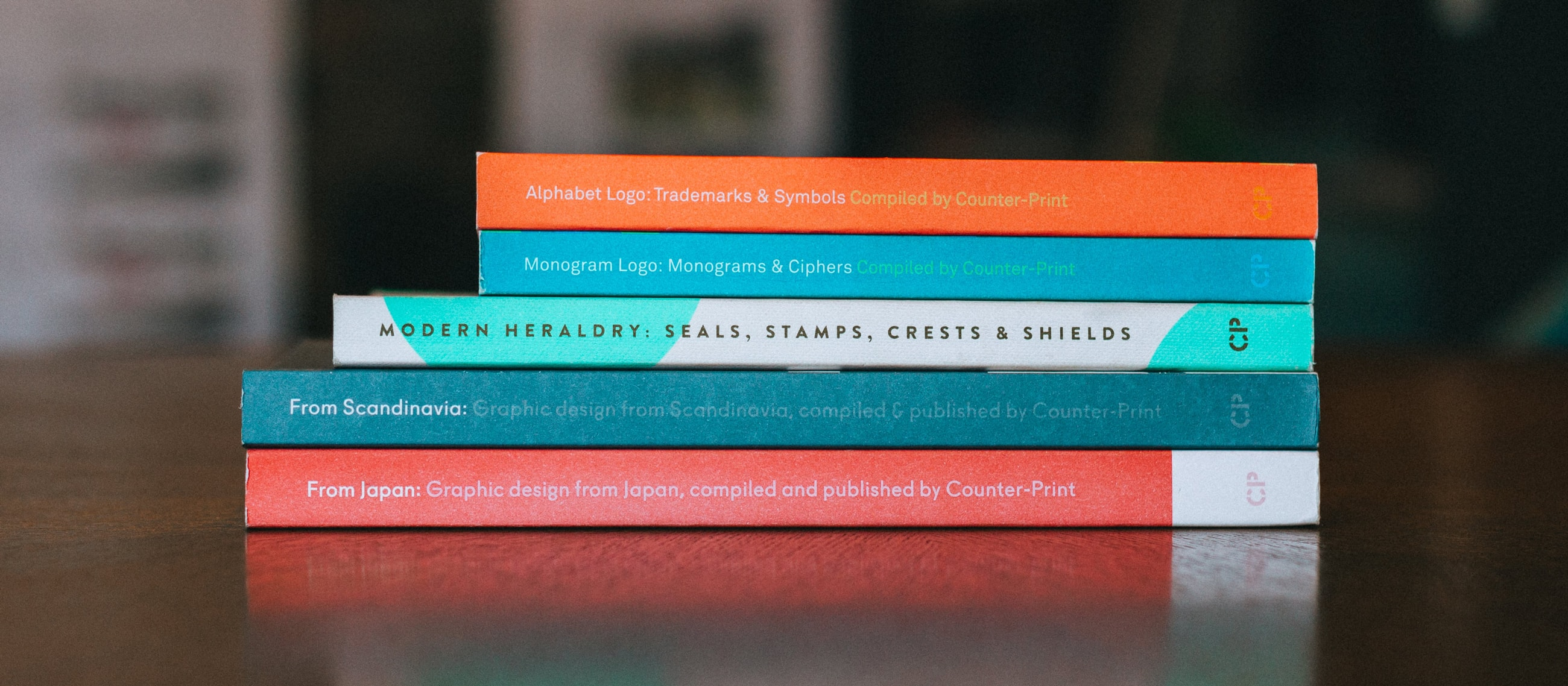 Selection of books by Counter Print
